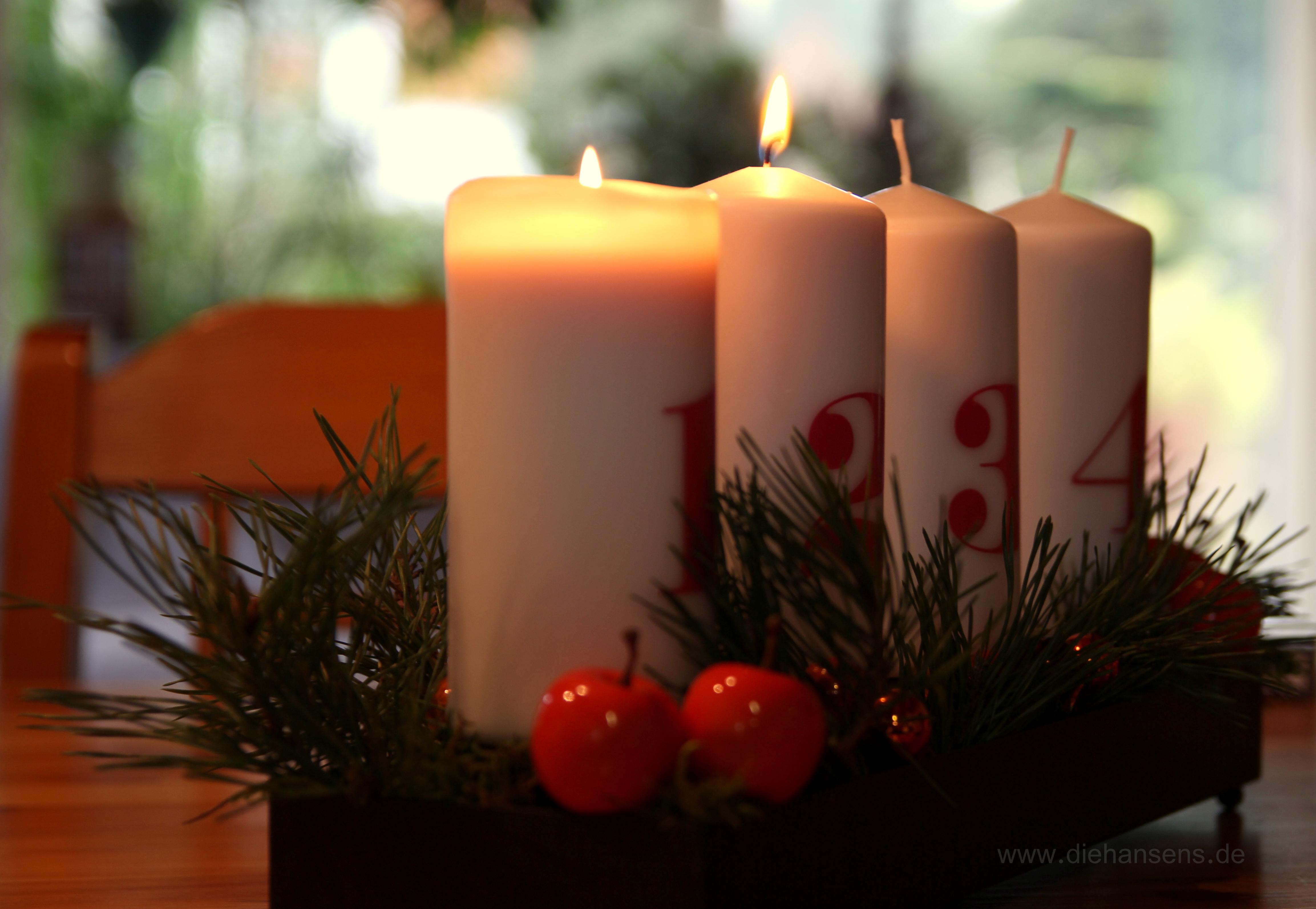 Ihnen und Ihren Lieben einen schönen zweiten Advent!